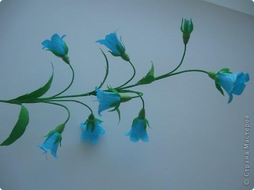 Как и из чего сделать цветок колокольчик из бумаги 76