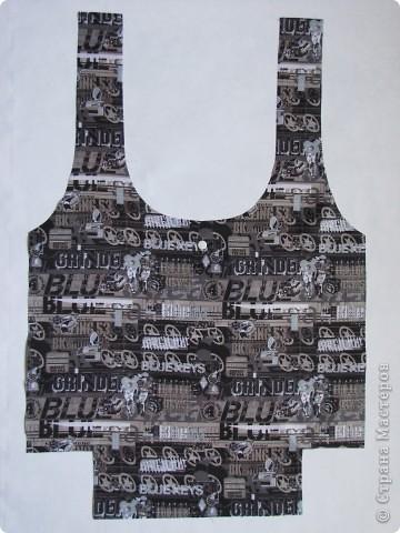 Гардероб, Мастер-класс Шитьё: Летняя сумка. Мини МК. Ткань День рождения. Фото 4