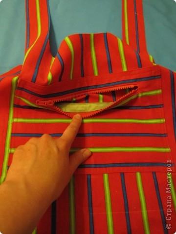 Гардероб, Мастер-класс Шитьё: Летняя сумка. Мини МК. Ткань День рождения. Фото 8