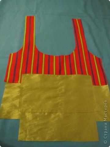 Гардероб, Мастер-класс Шитьё: Летняя сумка. Мини МК. Ткань День рождения. Фото 7