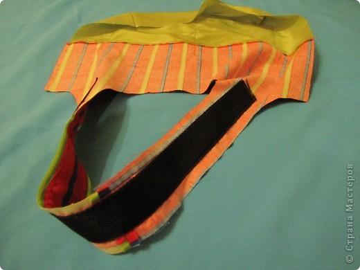 Гардероб, Мастер-класс Шитьё: Летняя сумка. Мини МК. Ткань День рождения. Фото 12