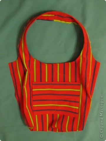 Гардероб, Мастер-класс Шитьё: Летняя сумка. Мини МК. Ткань День рождения. Фото 13