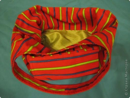 Гардероб, Мастер-класс Шитьё: Летняя сумка. Мини МК. Ткань День рождения. Фото 14