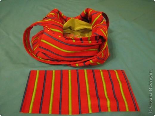 Гардероб, Мастер-класс Шитьё: Летняя сумка. Мини МК. Ткань День рождения. Фото 15