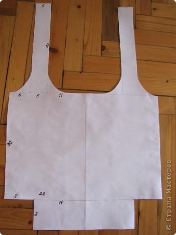 Гардероб, Мастер-класс Шитьё: Летняя сумка. Мини МК. Ткань День рождения. Фото 5