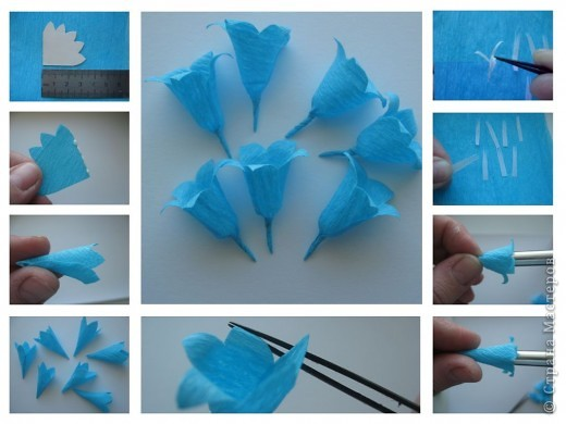Цветок из бумаги своими руками с пошаговым