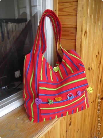 Гардероб, Мастер-класс Шитьё: Летняя сумка. Мини МК. Ткань День рождения. Фото 1