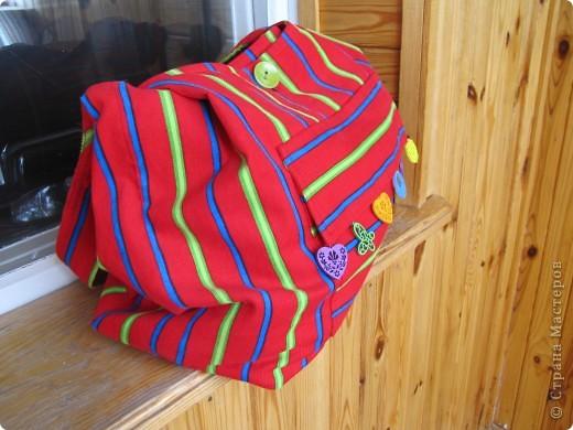Гардероб, Мастер-класс Шитьё: Летняя сумка. Мини МК. Ткань День рождения. Фото 18