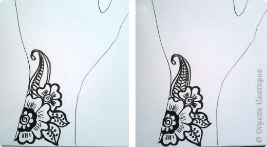 Рисуем узоры своими руками