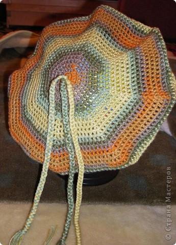 Гардероб, Презент от Голубки Вязание, Вязание крючком: Берет летний