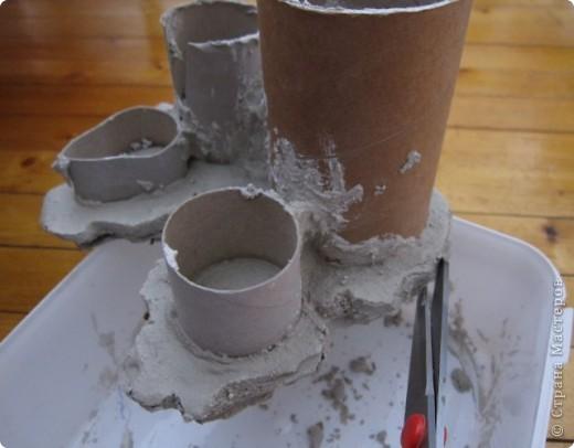 Мастер-класс Моделирование: Скала из бумаги Бумага. Фото 4