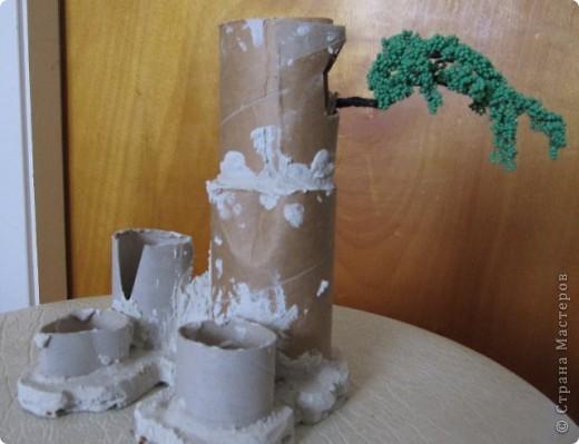 Мастер-класс Моделирование: Скала из бумаги Бумага. Фото 7