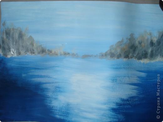 Мастер-класс, Урок рисования Рисование и живопись: Осенний парк. Гуашь Праздник осени. Фото 6