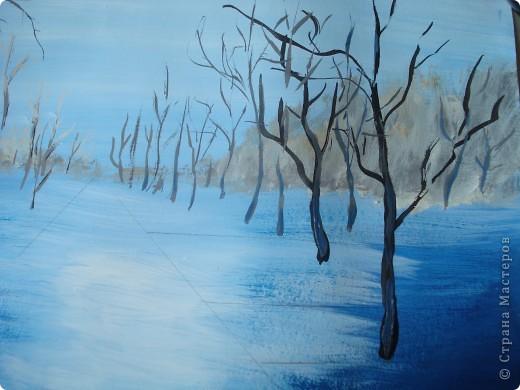 Мастер-класс, Урок рисования Рисование и живопись: Осенний парк. Гуашь Праздник осени. Фото 9