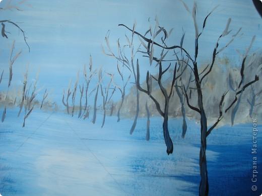 Мастер-класс, Урок рисования Рисование и живопись: Осенний парк. Гуашь Праздник осени. Фото 10