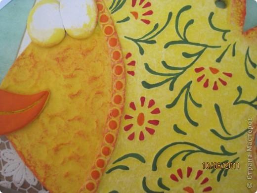 Мастер-класс, Поделка, изделие Лепка: Как просто сделать красивую рыбку Тесто соленое 23 февраля, 8 марта, День рождения. Фото 19