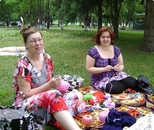 Кемерово - Всесвітній День В'язання на Публіці 2011
