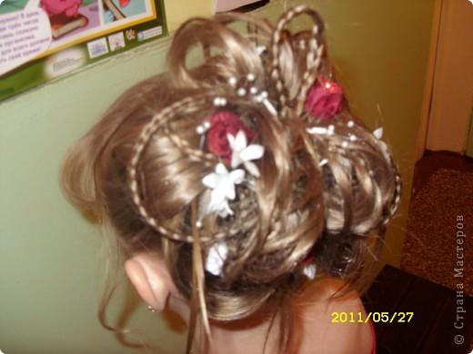 прически на выпускной 2011 в детском саду фотографии