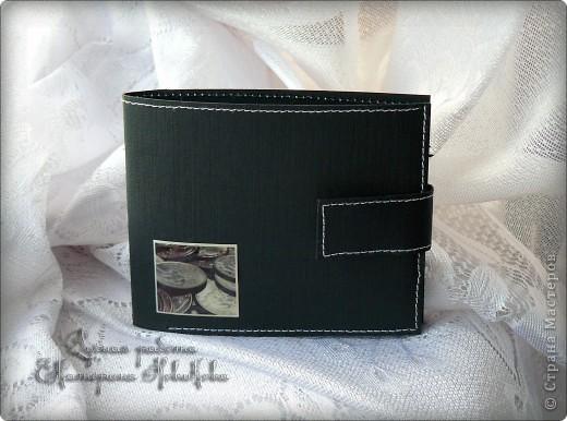 Открытка, Скрапбукинг: Открытка-портмоне для мужчины. Бумага 23 февраля, День рождения. Фото 1