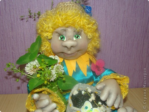 Куклы Шитьё: Подсолнушек. Фото 1