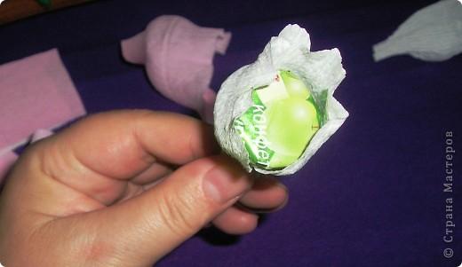 Мастер-класс, Свит-дизайн Вырезание, Моделирование: Букетик из конфет. МК для сластен с дополнениями Бумага. Фото 18