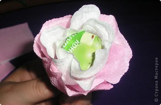 Мастер-класс, Свит-дизайн Вырезание, Моделирование: Букетик из конфет. МК для сластен с дополнениями Бумага. Фото 19