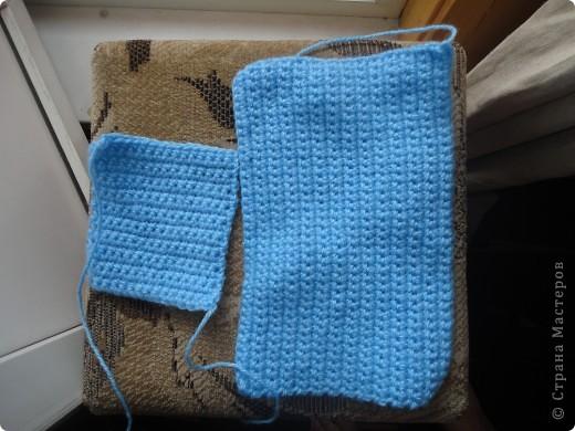 Мастер-класс Вязание крючком: Сумка через плечо Пряжа.  Фото 15.