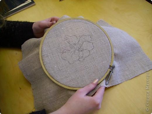 Мастер-класс Вышивка ковровая: