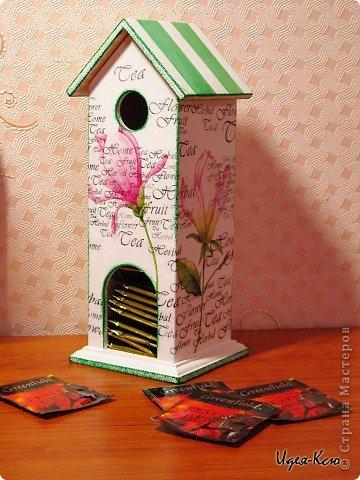Одной из моих работ является чайный домик
