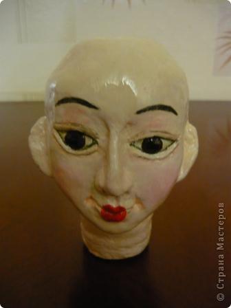Куклы, Мастер-класс Папье-маше, Шитьё: Кукла японочка + МК Бумага, Клей, Краска, Пряжа, Ткань Отдых. Фото 15