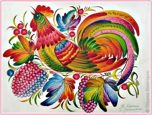 Картина, панно Роспись: Секреты росписи. Часть 6. Фауна. Краска. Фото 1