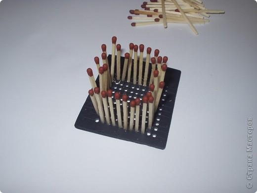 Мастер-класс Моделирование: Как быстро и легко собрать кубик из спичек Спички. Фото 4