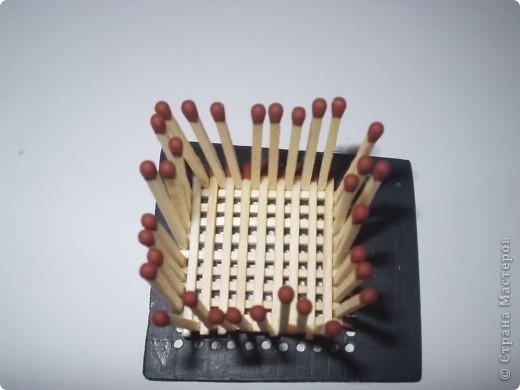 Мастер-класс Моделирование: Как быстро и легко собрать кубик из спичек Спички. Фото 6