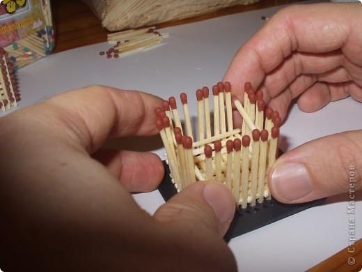 Мастер-класс Моделирование: Как быстро и легко собрать кубик из спичек Спички. Фото 7
