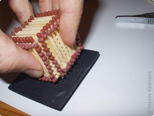 Мастер-класс Моделирование: Как быстро и легко собрать кубик из спичек Спички. Фото 10