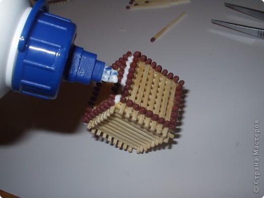 Мастер-класс Моделирование: Как быстро и легко собрать кубик из спичек Спички. Фото 12