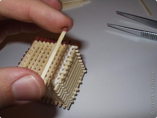 Мастер-класс Моделирование: Как быстро и легко собрать кубик из спичек Спички. Фото 13