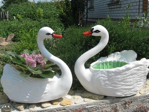 Мастер-класс, Скульптура Лепка:  Лебедь-кашпо ( обещанный МК) ч. І. Фото 1
