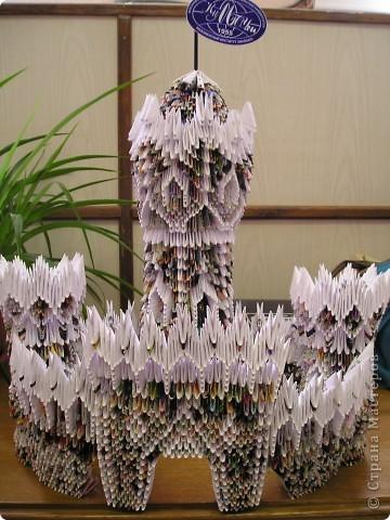 Поделки по книгам сайта Оригами модульное: Замок Бумага. Фото 1