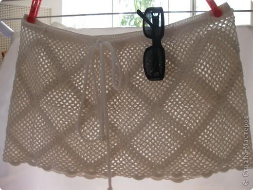 Гардероб Вязание крючком: Сумка и юбка из квадратных мотивов.  Нитки.