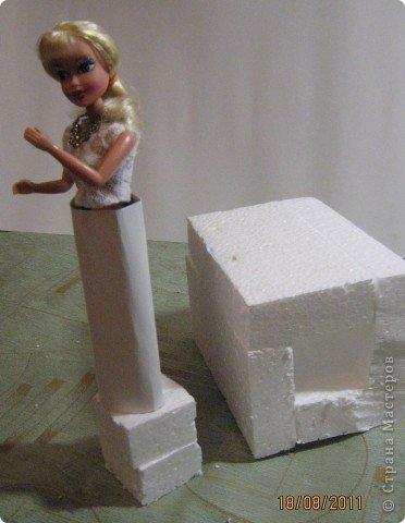 Мастер-класс, Свит-дизайн: Куклы из конфет. МК. Бумага гофрированная День рождения. Фото 8