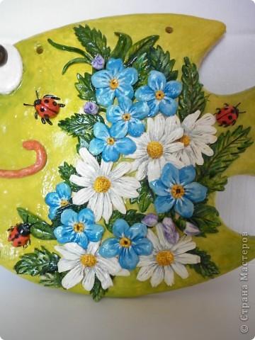 Поделка, изделие Лепка: Цветочно-соляныя рыбки Тесто соленое. Фото 2