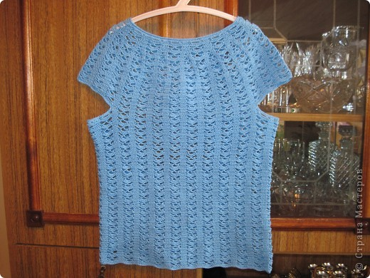 Шьем летнюю блузку