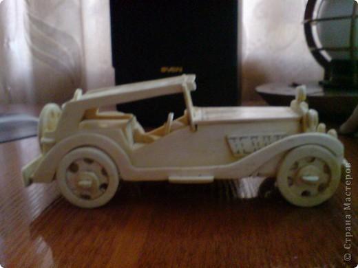 Поделки для мальчиков Выпиливание: Модели автомобилей Фанера. Фото 2