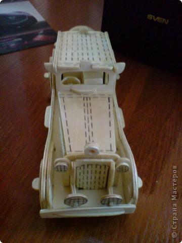 Поделки для мальчиков Выпиливание: Модели автомобилей Фанера. Фото 3