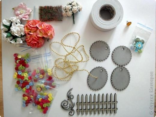Материалы и инструменты: Мои новые материалы и рабочее место. Фото 1