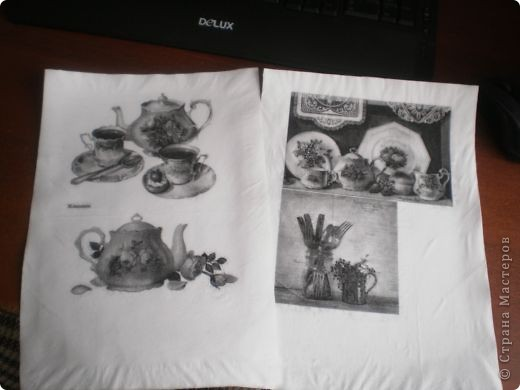 Мастер-класс Декупаж: Распечатки на салфетках Салфетки. Фото 5