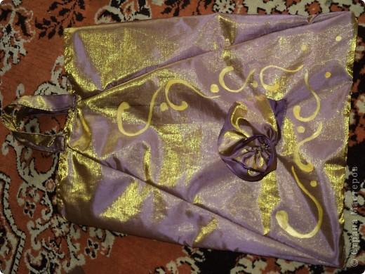 Шитьё: Сумки из старого зонтика Ткань.  Фото 3.