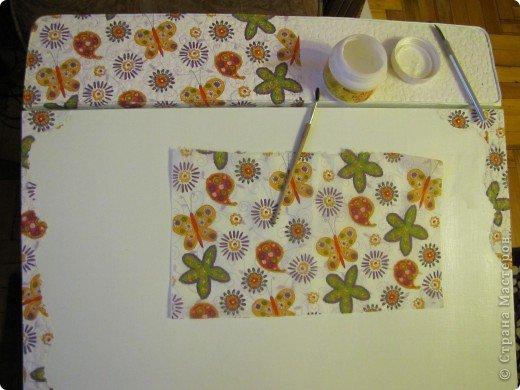 Декор предметов, Мастер-класс Декупаж: Жил-был стол...(реставрация). Салфетки, Скорлупа яичная, Шпагат. Фото 9