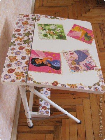 Декор предметов, Мастер-класс Декупаж: Жил-был стол...(реставрация). Салфетки, Скорлупа яичная, Шпагат. Фото 15